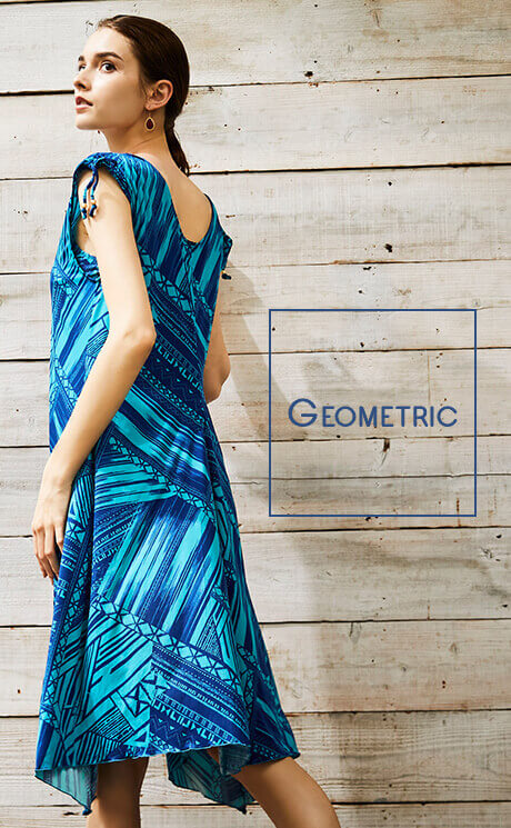Geometric|【Coral veil】Mono graf