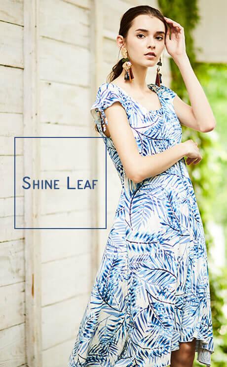 Shine Leaf 【Coral veil】Mono graf
