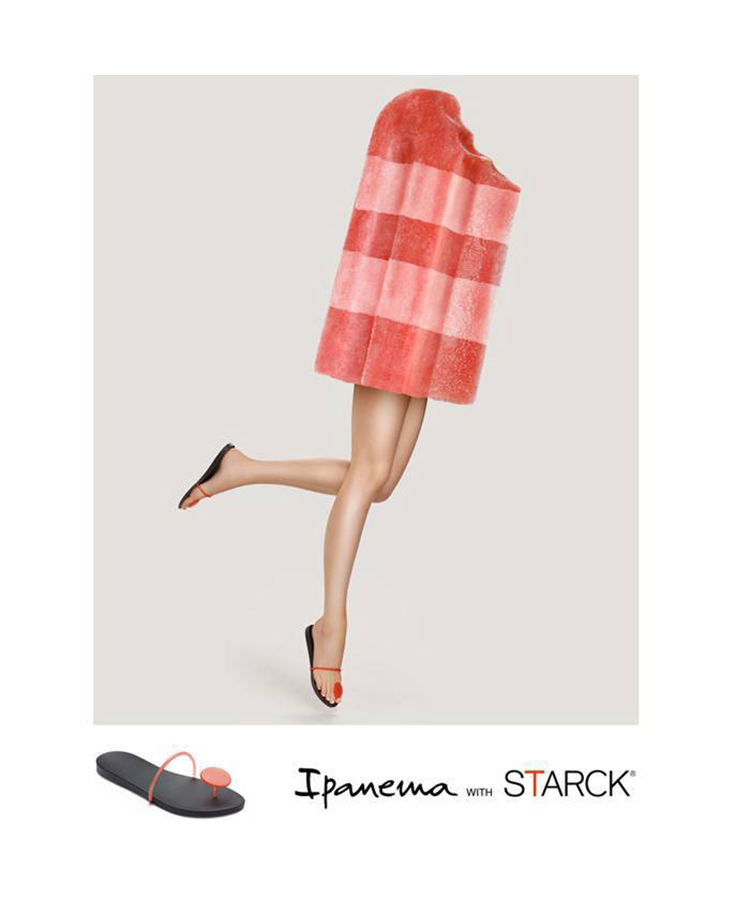 【SALE】【Ipanema with STARCK】THING U  22cm.23cm.24cm.25cm【PM81603】