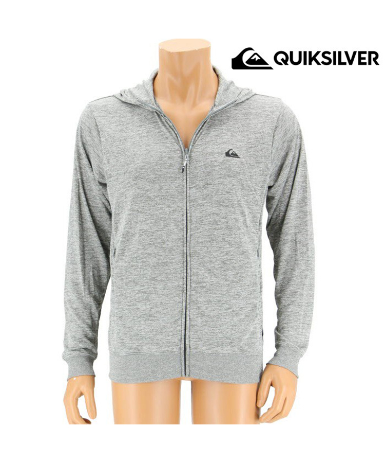 【QUIKSILVER】【QLY181022】MW ON CHEST HD メンズ長袖ラッシュ パーカー 7号/9号/11号/13号