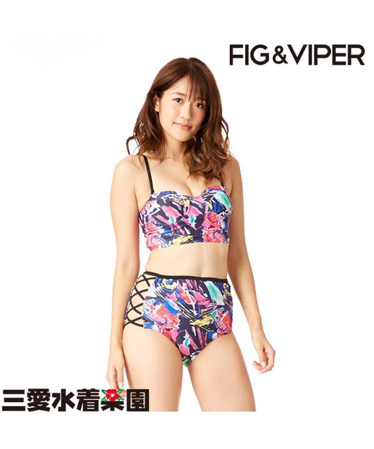 【FIG&VIPER】ボールドハイウエスト ビキニ 9号
