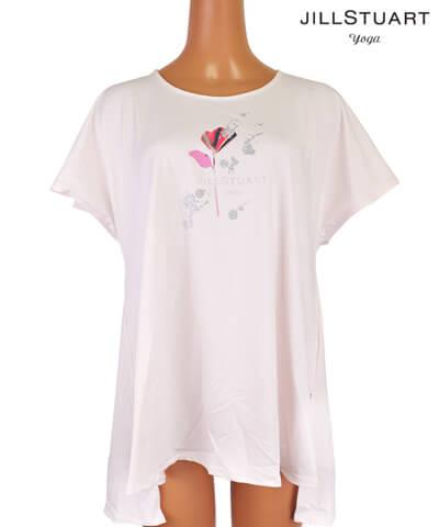 【JILL STUART】JILLstuart yoga ワンポイントグラフィック Tシャツ M/L