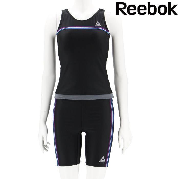 【REEBOK】カラーステッチライン フィットネス水着 9号/11号/13号