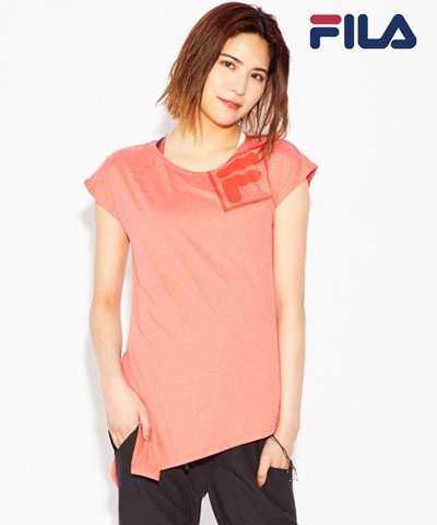 【2019年新作】【FILA】サイドスリット Tシャツ M/L/LL