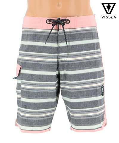 【VISSLA】【M106KTIG19SP】TIGER TRACKS メンズ水着 S/M/L/XL