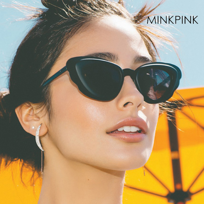 【SALE】【MINKPINK】THE RUN AROUND MP EDIT サングラス F