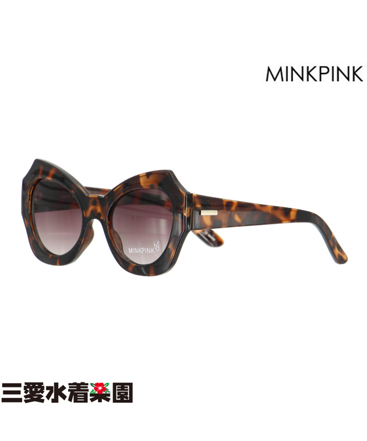 【SALE】【MINKPINK】HAUTE IN HERE MP EDIT べっ甲 サングラス F