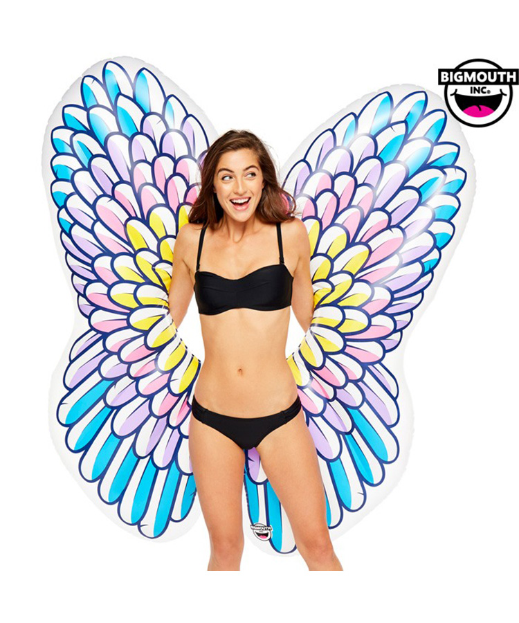 【BIG MOUTH】【BMPF-0029】 Giant Pool Float  Angel Wings 浮き輪 F