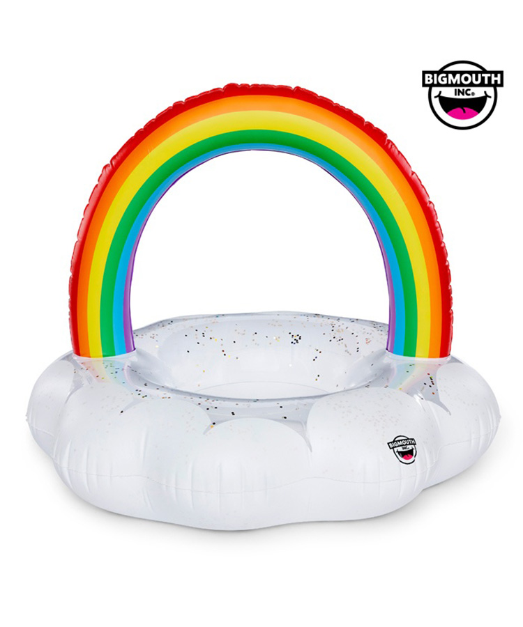 【BIG MOUTH】【BMPF-0012】 Rainbow Cloud Pool Float 浮き輪 F