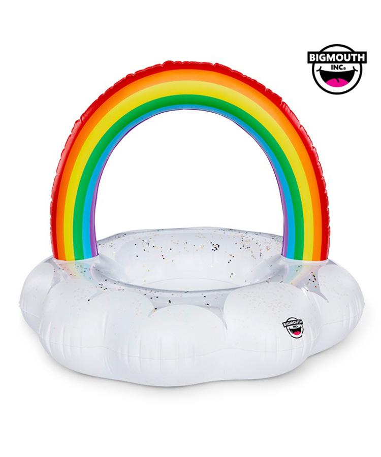 【SALE】 【BIG MOUTH】【BMPF-0012】 Rainbow Cloud Pool Float 浮き輪 F