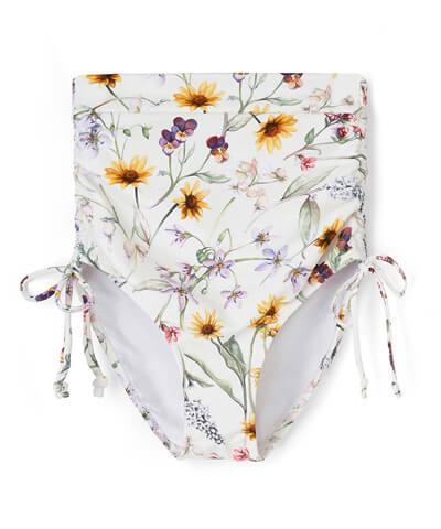 【San-ai Resort】Primavera Liberty Fabric ハイウエスト ショーツ M/L