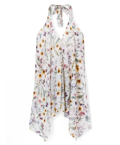 【San-ai Resort】Primavera Liberty Fabric パレオ 単品 M