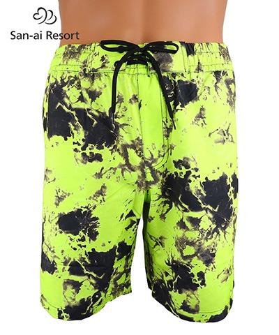 【San-ai Resort】Ethno tiedye メンズ ボードショーツ M/L/LL
