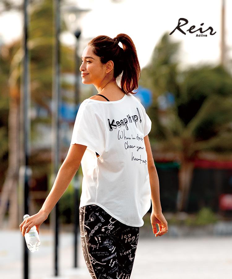 【2020年新作】【Reir Active】Solid×Logo Tシャツ M