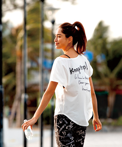 【Reir Active】Solid×Logo Tシャツ M