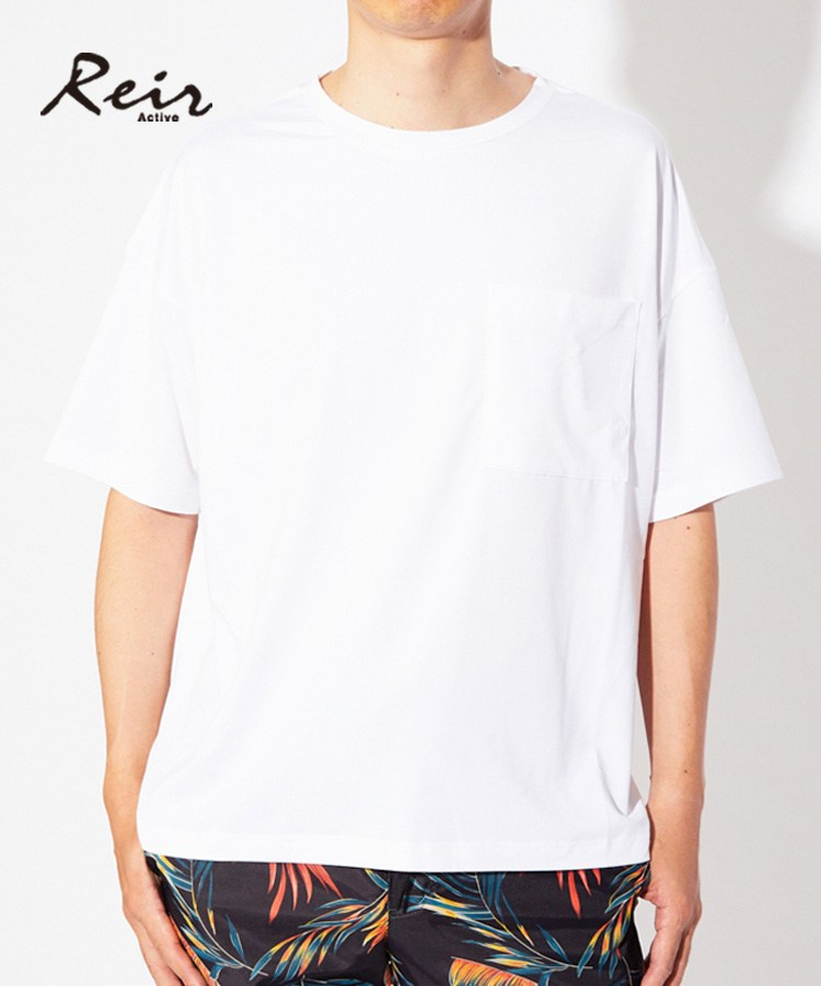 【2019年新作】【Reir】【UPF50+,吸水機能素材】Magic Transfer ユニセックス Tシャツ S/M/L