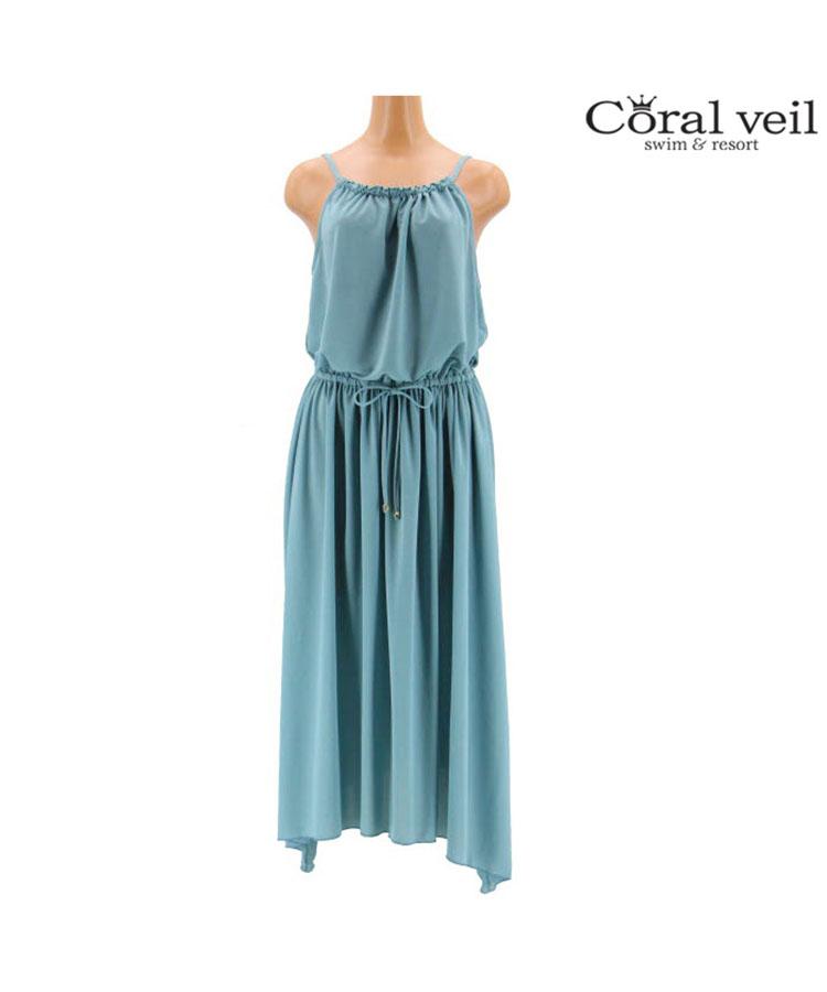 【2019年新作】【Coral veil】エスパンディ マキシ ワンピース M