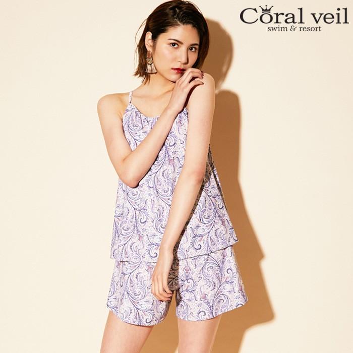 【2019年新作】【Coral veil】May Fair 3点セット水着 9号/11号