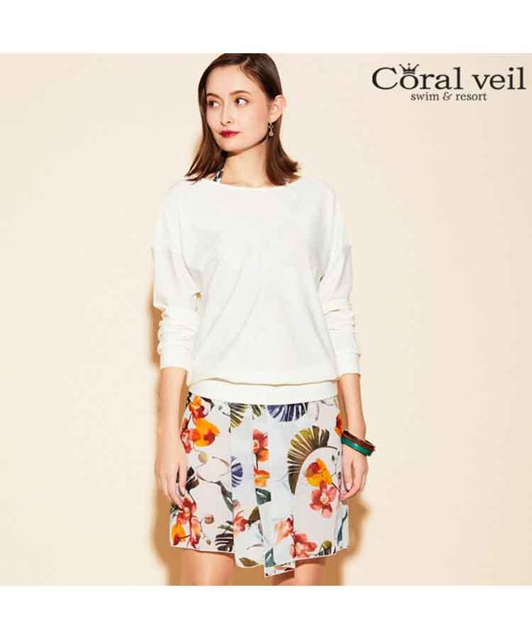 【2019年新作】【Coral veil】Loyme UV トップス M